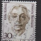 Germany 1986/91 - Scott 1478 used - 30pf, Famous Women, Kathe Kollwitz (7-126)