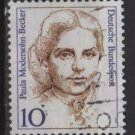 Germany 1986/91 - Scott 1476 used - 10pf, Famous Women, Paula Modersohn-Becker  (7-128)
