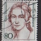 Germany 1986 - Scott 1483 used - 80pf, Famous Women, Clara Schumann  (7-130)