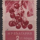 Bulgaria 1956  - Scott 936 used -  2s, Cherries (7-196)
