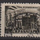 Bulgaria 1952 - Scott 775 used - 16s, Powerstation (m-322)