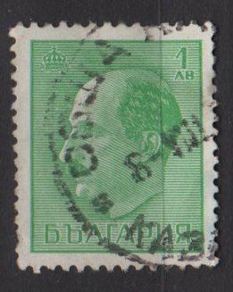 Bulgaria 1940/44 - Scott 368 used - 1l, Tsar Boris III  (7-431)