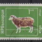 Bulgaria 1974  - Scott 2158  CTO -  1s, Domestic animals(7-632)