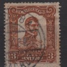Mexico 1910 - Scott 312 used - 3c, Lopez Rayon   (8-252)