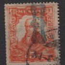 Mexico 1916 - Scott 521 used - 5c, Miguel Hidalgo (8-253*)