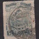 Mexico 1917 - Scott 613 used - 5c, Maclovio Herrera  (8-254)