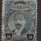 Mexico 1917 - Scott 623 used - 10c, F. I. Madero (Perf. 12)  (8-255)