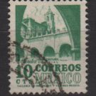 Mexico 1950/52 - Scott 858 used - 10c, Morales Convent (8-263)