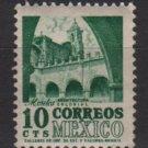 Mexico 1950/52 - Scott 858 MNH - 10c, Morales Convent (8-264)