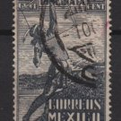 Mexico SPECIAL DELIVERY 1938 - Scott E5 used - 10c, Indian Archer  (Ru-604)