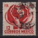 Mexico  1945 - Scott  792 used -  12c, INter-American Conf. @ Chapultepec  (8-284)