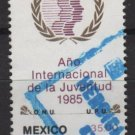 Mexico 1985 - Scott 1378 used - 35p, International Youth Year   (8-342)