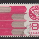 Mexico 1975/87 - Scott 1133a  used  - 80p,  Export emblem & books (8-325)