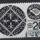 Mexico 1975/87 - Scott 1127  used  - 20p,  Export emblem & Wrought iron (8-321)