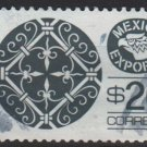 Mexico 1975/87 - Scott 1128  used  - 20p,  Export emblem & Wrought iron (8-319)