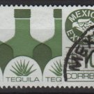 Mexico 1975/87 - Scott 1125b  used  - 10p,  Export emblem & Tequila (8-317)