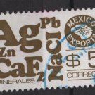 Mexico 1975/87 - Scott 1120a  used   - 5p,  Export emblem &  minerals (8-310)