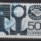 Mexico 1975/87 - Scott 1112a used - 5c, Export emblem &  Pistons (8-301)