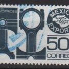 Mexico 1975/87 - Scott 1112a used - 5c, Export emblem &  Pistons (8-301)