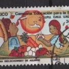 Mexico  1985  -  Scott  1379 used - 36p, Child survival campaign (L-703)