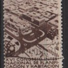 Mexico  1938  - Scott  743 used  - 10c, 16th Congress of planing & housing  (7-297)