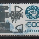 Mexico  1987/88 - Scott  1496 used  - 500p,  export emblem & Petroleum valves (7-463)