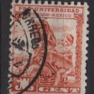 Mexico  postal Tax Stamp 1934 - Scott RA13B used - 1c, Indian Mother & Child (G-668)
