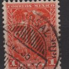 Mexico  1934/40 - Scott  707 used - 1c, Yalalteca Indian (G-21)