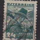 Austria 1934/35 - Scott  362  used -  24g,  Salzburg  costume  (8-381)