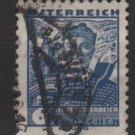 Austria 1934/35 - Scott  358  used -  6g,  Lower Austria  costume  (8-375)