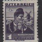 Austria 1934/35 - Scott  354 MH - 1g, Burgenland costume (8-367)