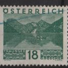 Austria 1929/30  -  Scott  330 used  - 18g, Traunsee  (8-413)