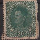 Austria 1917/18  -  Scott  169 used  - 20h, Emperor Karl I  (8-402)