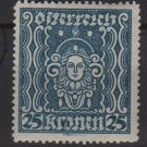 Austria 1922/24 - Scott 290 MH - 25k, Symbol of Art & Science (8-389)