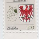 GERMANY 1992/94 - Scott 1702 MNH -100pf, Coats of Arms Brandenburg  (8-414)