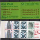 Germany 1993 - Booklet of 8 stamps, Berlin Frankfurt & Weiden issues - NEW (#2557)