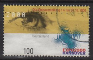 GERMANY 2000 - Scott 2060 used - EXPO 2000, Weltausstellung (P-291)