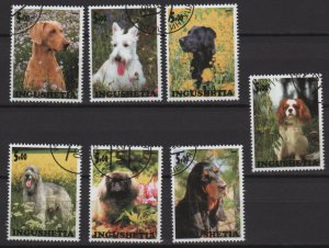 INGUSHETIA 2000   - Cinderella stamps - dogs issues  (S - 296)