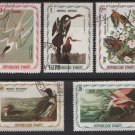 Haiti 1975  - Cinderella stamps - Unauthorized Audubon Birds issues (H - 81)