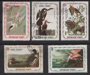 Haiti 1975  - Cinderella stamps - Unauthorized Audubon Birds issues (H - 81)