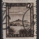 Austria 1945/46  -  Scott  461 used -  12g, Scenic View, WolfgangSee (8-434)