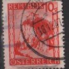 Austria 1947/48  -  Scott 502 used -  10g, Scenic View, Hochisterwitz (8-458)