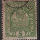 Austria 1916/18 - Scott 146 used - 5h, Austrian Crown (8-493)