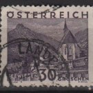 Austria 1929/30 - Scott 334 used -  30g,  Scenic view, Seewiesen (8-475
