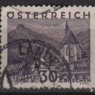 Austria 1929/30 - Scott 334 used -  30g,  Scenic view, Seewiesen (8-475
