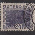 Austria 1932 - Scott 345 used - 24g,  Scenic view, Salzburg (8-468)