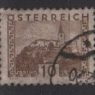 Austria 1932 - Scott 340 used - 10g, Scenic view, Gussing (8-460)