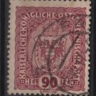 Austria  1916/18 -  Scott 158  used  - 90h, Austrian Crown (8-514)