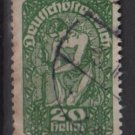 Austria  1919/20 -  Scott 208a  used  - 20h, Allegory of New Republic (8-522)