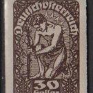 Austria  1920 -  Scott 233 Imperf.  MH  - 30h, Allegory of New Republic (8-524)